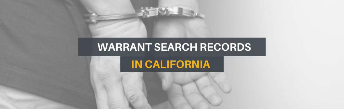 Warrant Search California