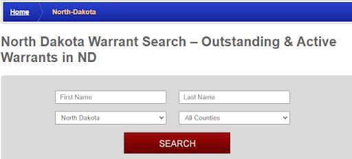 Conducting a Warrants Search in North Dakota