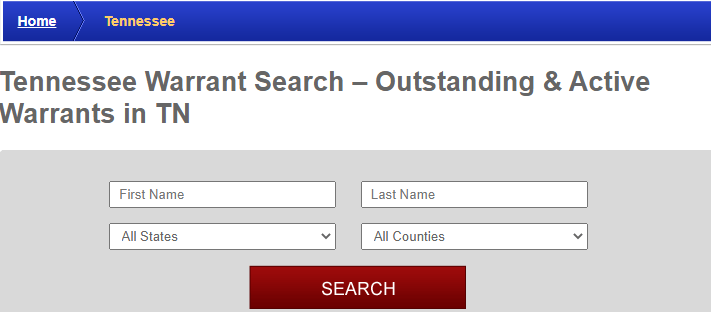 Conducting a Warrants Search in Tennessee