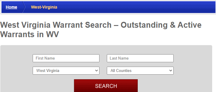 Conducting a Warrants Search in West Virginia