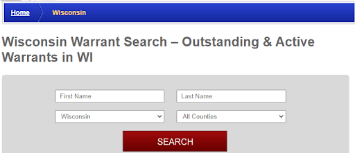 Conducting a Warrants Search in Wisconsin