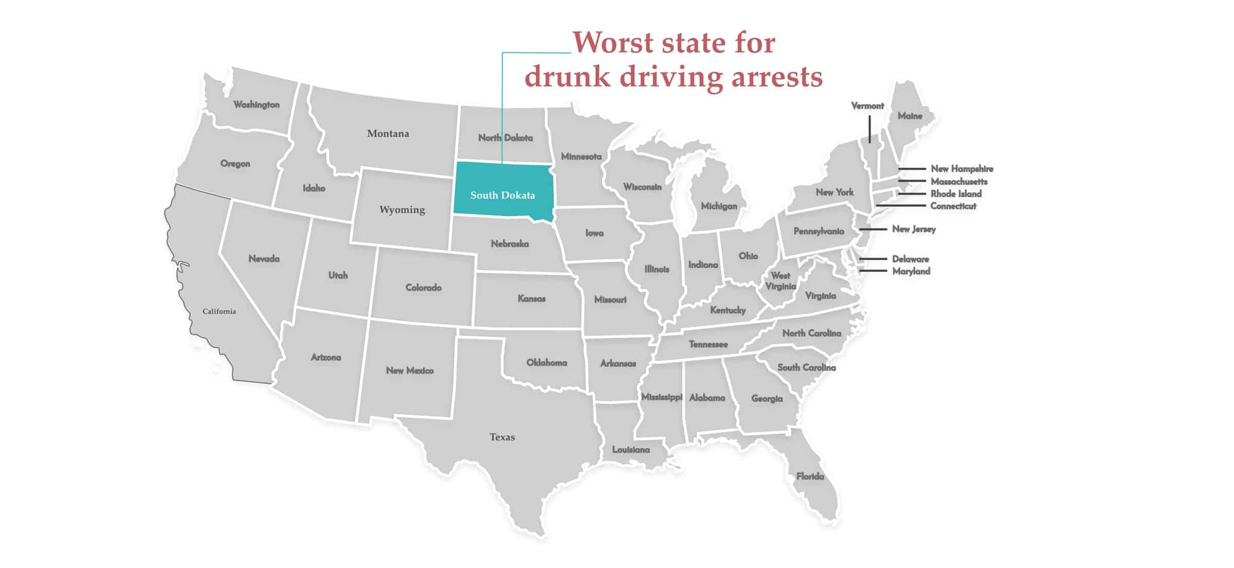 Worst driving arrest